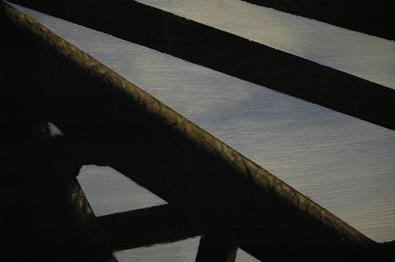 Paint Blog 2, details.  Another plank.  Click to open in a new window.